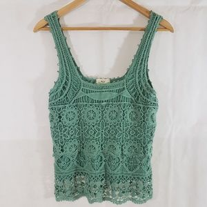 Anthropologie Pins And Needles Knitted Tank Top